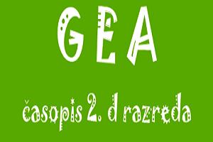 Gea – časopis 2.d razreda