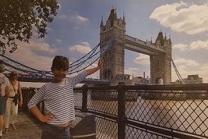 Fotoreportaža Une Tomas Tunjić iz Londona